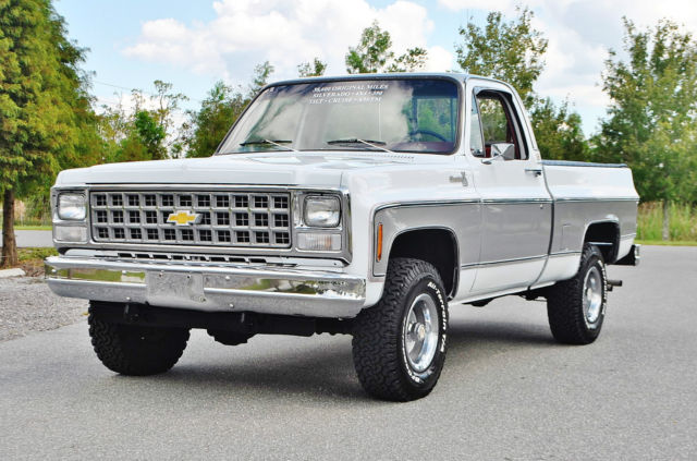 1980 Chevrolet Silverado 1500 best to be found in U.S just 38ks 4x4 short box