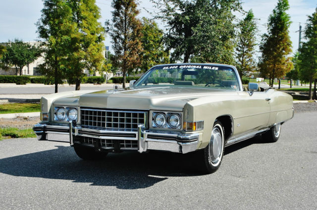 1973 Cadillac Eldorado Very rare mint eldo conv just 56ks loaded.