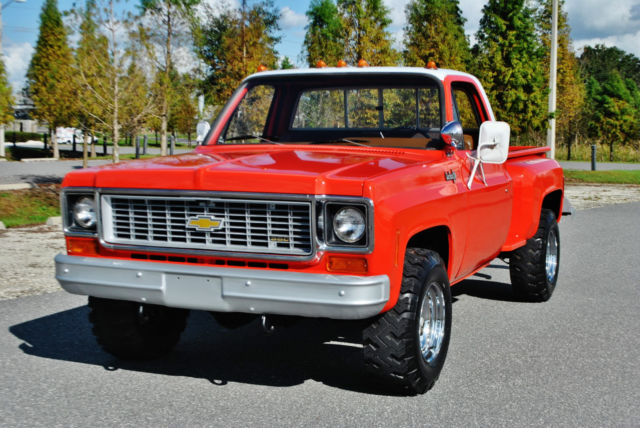 1974 Chevrolet Other Pickups Must be seen driven only 9000 miles 4x4 v-8.