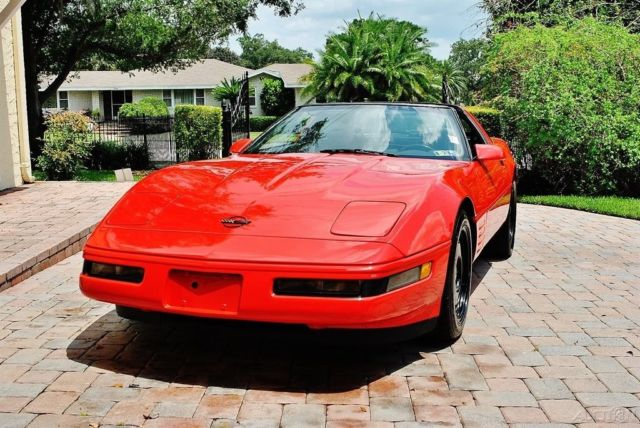 1993 Chevrolet Corvette Removable Top 6 Speed