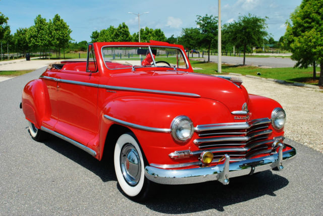 1948 Plymouth Special Deluxe Convertible Restored Very Rare!