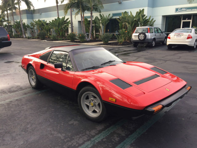 single owner red 1983 ferrari 308gts for sale photos. Black Bedroom Furniture Sets. Home Design Ideas