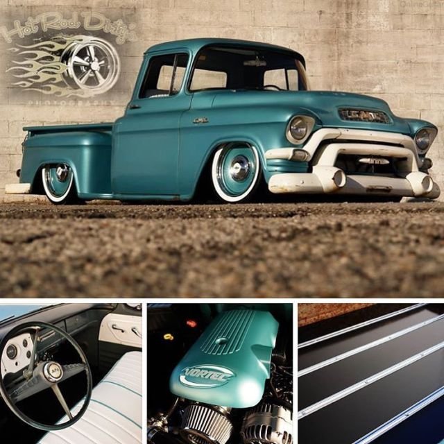 Slammed Hot Rat Street Rod Patina Shop Truck Air Ride