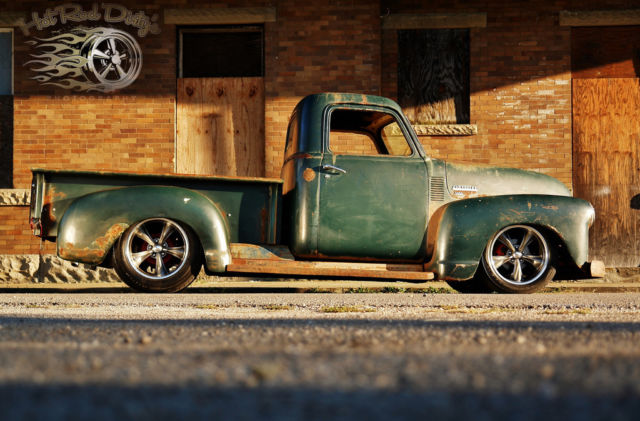 1953 Chevrolet C-10 Patina Pro Touring Restomod Hotrod Pickup