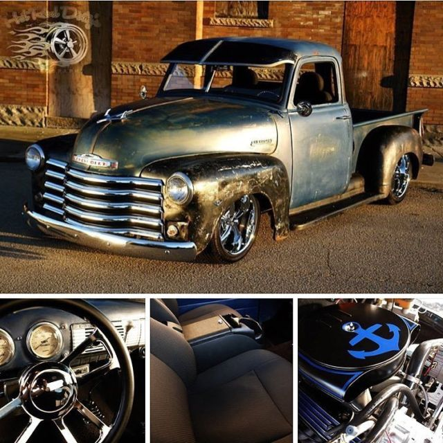 1947 Chevrolet C-10 Patina Pro Touring Restomod Hotrod 3100 Pickup