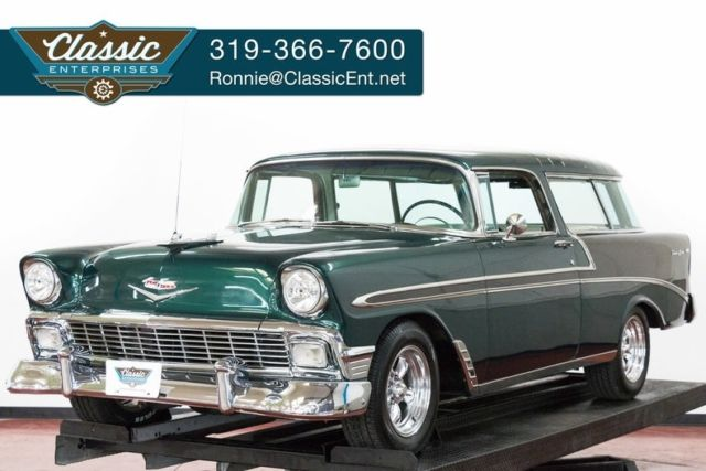 1956 Chevrolet Nomad V8 Muncie 4 speed with disc brakes alloy wheels