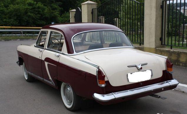 Soviet Russian Car Gaz 21 Volga for sale: photos, technical