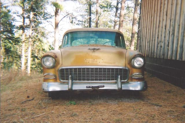 1955 Chevrolet Bel Air/150/210 Golden 4-door