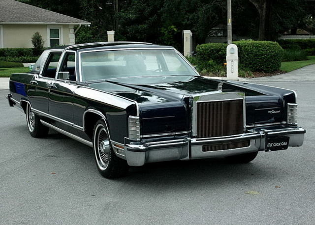 1979 Lincoln Town Car COLLECTORS SERIES - TWO OWNER - 41K MI