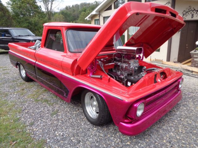 1966 Chevrolet C-10 Custom C10 SWB Fleetside