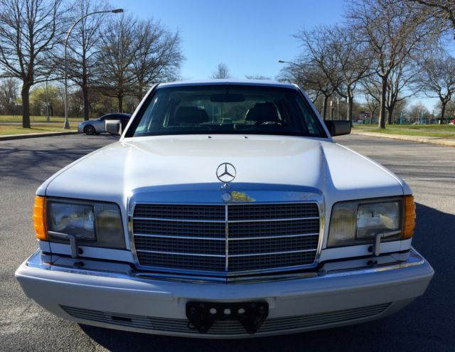 1989 Mercedes-Benz 500-Series ULTRA RARE 4 SEAT 560SEL STUNNING CONDITION 1 OWNER
