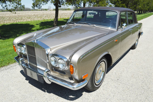 "1969 Rolls-Royce Silver Shadow - Long Wheel Base (""LWB"")"