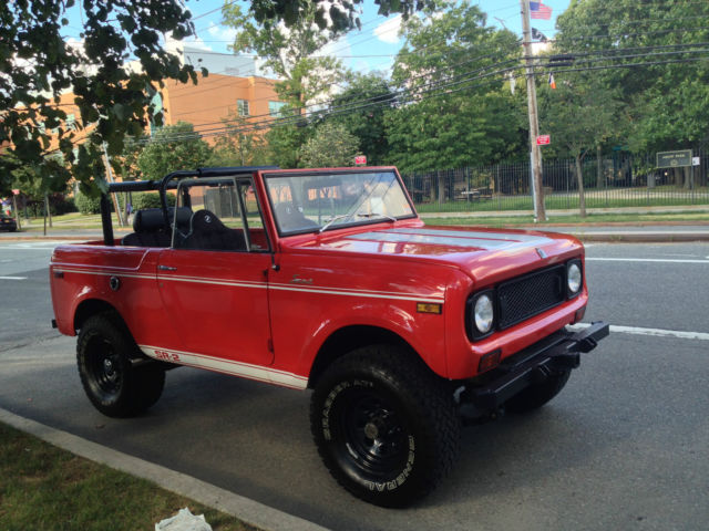 specialty truck 1970 international scout harvester 800a