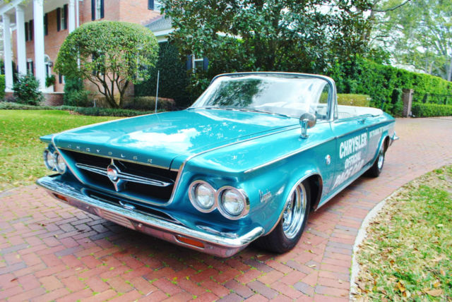1963 Chrysler 300 Series Rare Pace Setter Convertible 1 of 1,861 Must See