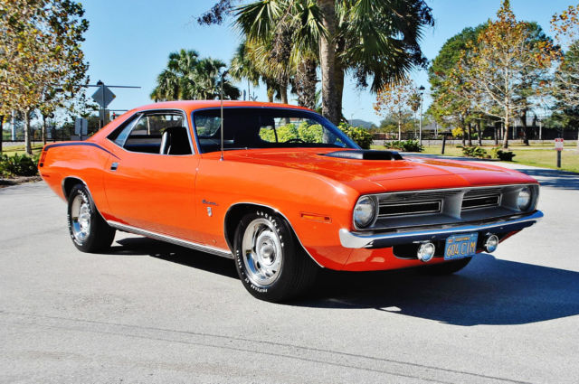 1970 Plymouth Barracuda  Numbers Matching 383 4bbl 4-Speed