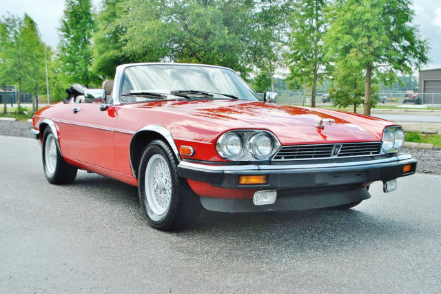 1991 Jaguar XJS 1 of the best original xjs v-12  conv in country.