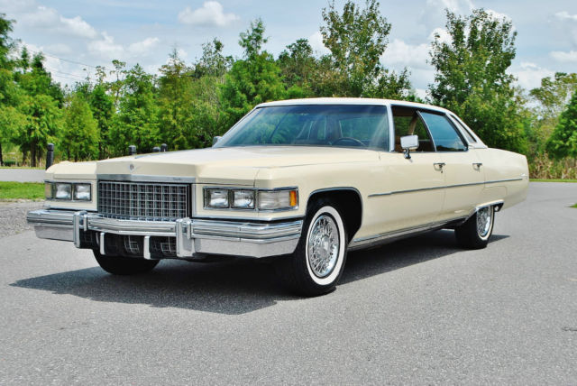 1976 Cadillac DeVille Huge no reserve on select cars this week.