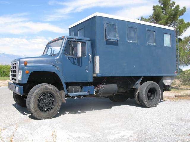 1981 International Harvester Other Air Force Blue w/Diamond Plate