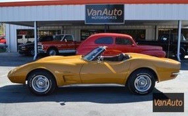 1973 Chevrolet Corvette Stingray Convertible 350 V8 Auto