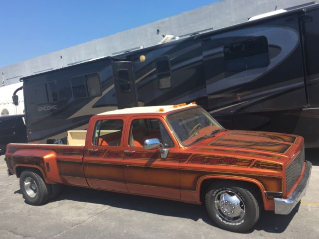 Square Body Crew Cab C30 Dually For Sale Photos Technical
