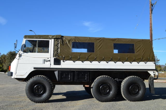 Steyr Puch Pinzgauer 712m Troop Swiss Military For