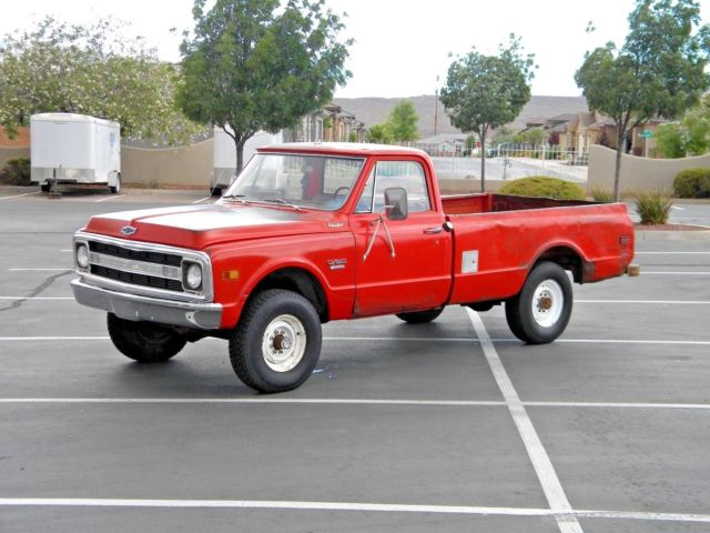1970 Chevrolet Other Pickups Custom 20 3/4 Ton 4x4 350 4 Speed K20 C20