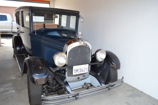 1928 Chrysler Street Rod, 4 Door (suicide)