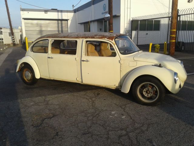 Stretched Vw Limo 4 Door Bug