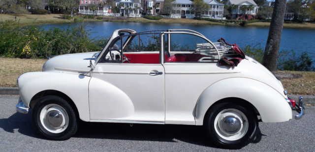 1962 Other Makes MORRIS MINOR  CONVERTIBLE
