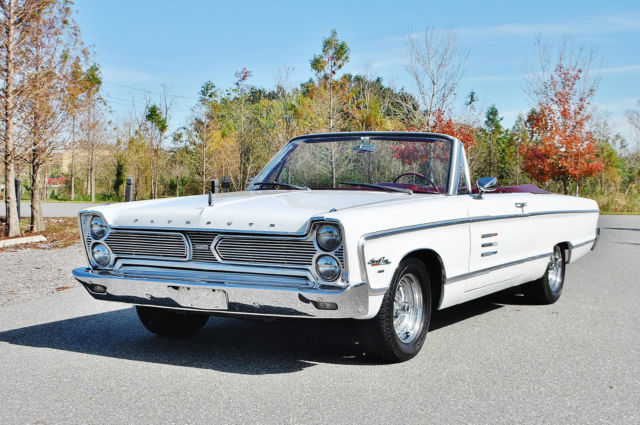 1966 Plymouth Fury Sport Fury Convertible Buckets Console Must See