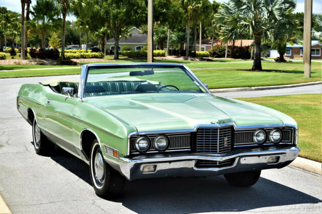 1972 Ford LTD Convertible 429 cid Automatic Power Steering & Bra