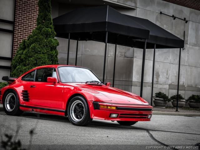 1986 Porsche 911 Turbo Carrera Coupe 2-Door
