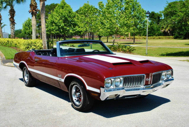1970 Oldsmobile 442 w30 442 Tribute Convertible loaded sweet.