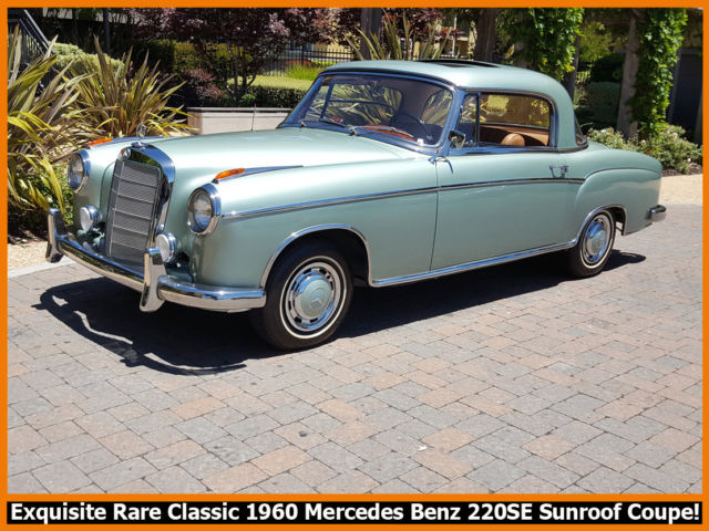 1960 Mercedes-Benz 200-Series 220SE