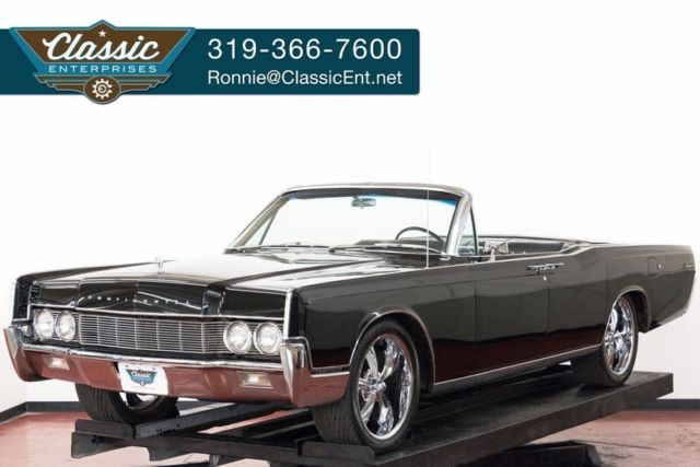 1967 Lincoln Continental convertible with leather fully optioned restored