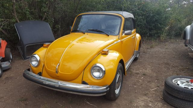 1978 Volkswagen Beetle-New coupe cabriolet