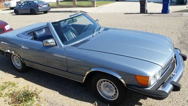 1977 Mercedes-Benz 400-Series SL Convertible
