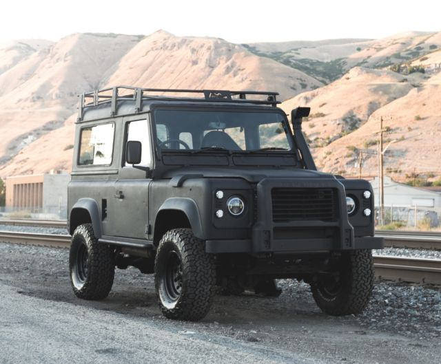 1992 Land Rover Defender Completely Updated - Leather, Carpet, Vinyl