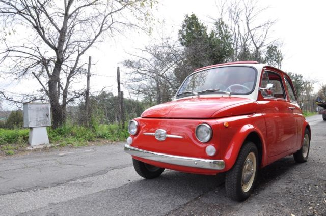Super Funny 1965 Fiat 500 F Rare 8 Bulloni Version No Reserve