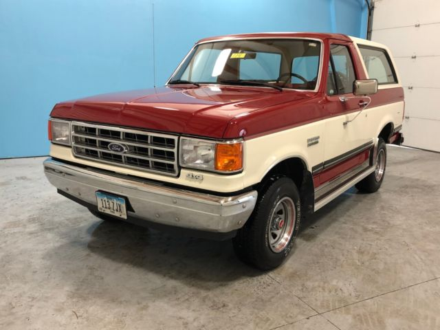 1988 Ford Bronco XL