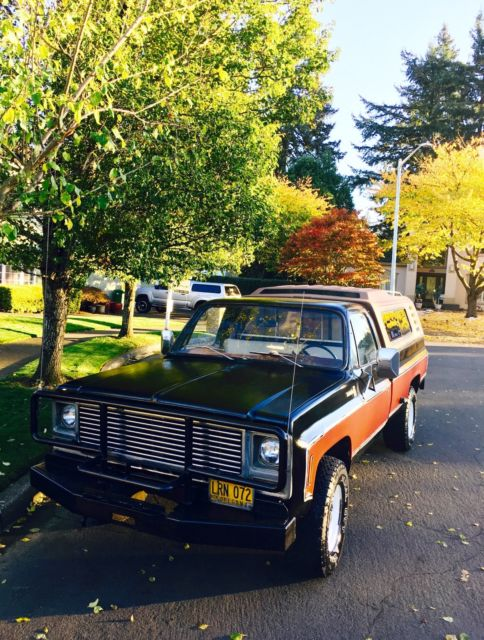 1979 Chevrolet C/K Pickup 2500 Scottsdale