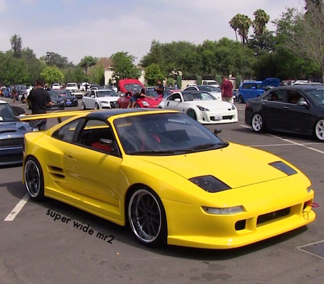 Super Widebody Toyota 92 Mr2 Turbo Modified Wide Showcar