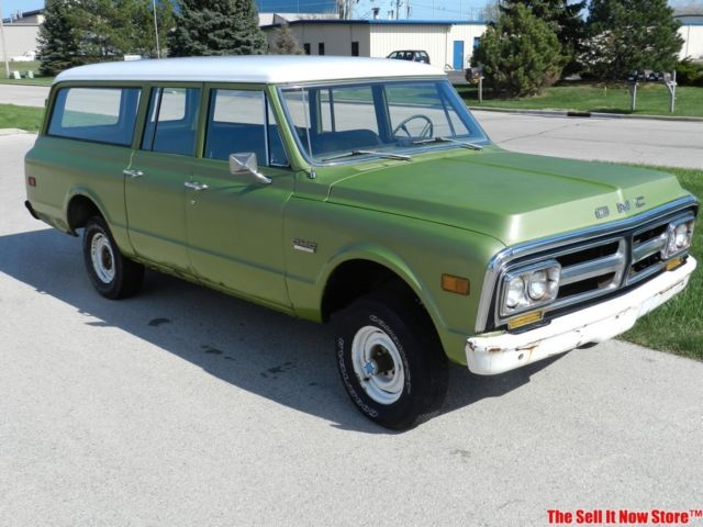 1972 GMC Suburban Carry All 1500 Super Custom 4x4 350