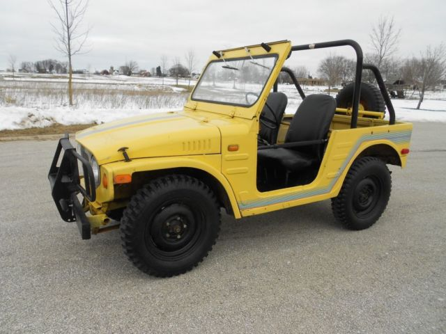 survivor 1972 suzuki lj 20 jimny 4x4 mini jeep brute samurai lj10 lj50 lj80 360 for sale  photos