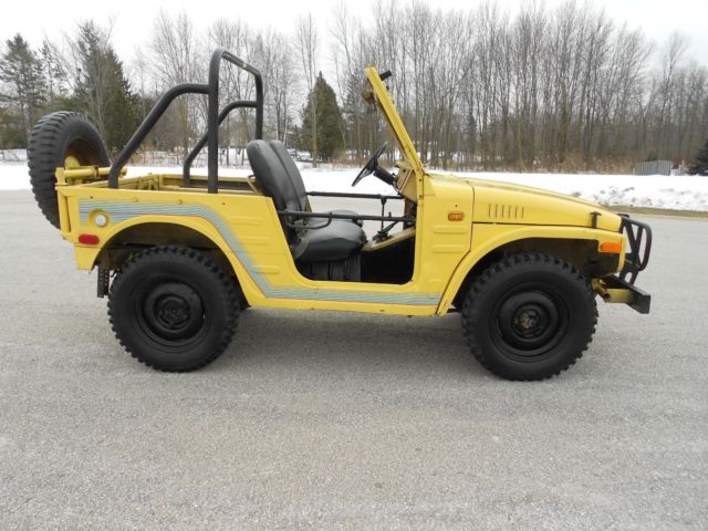 Lj80 For Sale >> SURVIVOR 1972 SUZUKI LJ 20 JIMNY 4X4 mini jeep brute Samurai lj10 lj50 lj80 360 for sale: photos ...