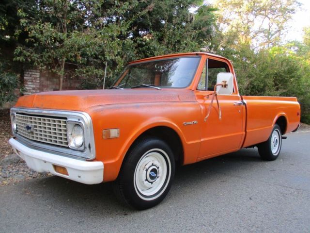 1971 Chevrolet C-10 CA Original Paint 6cyl / Automatic Protectoplate