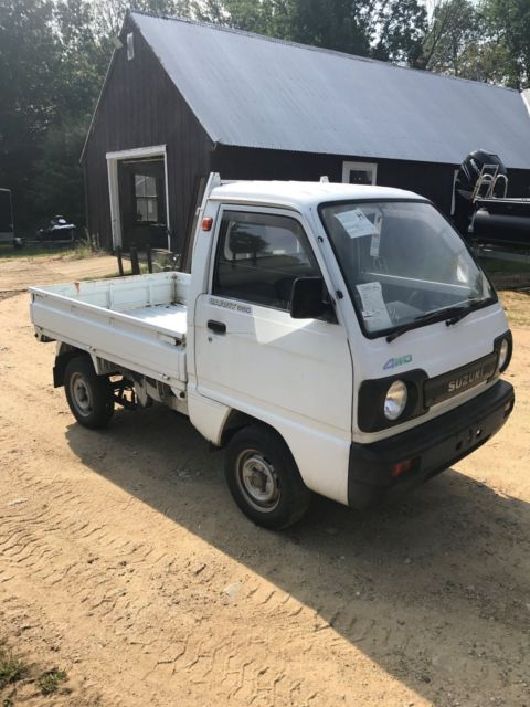 suzuki carry 4x4 for sale: photos, technical specifications