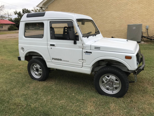suzuki jimny samurai rhd turbo 4x4 high roof hardtop nice. Black Bedroom Furniture Sets. Home Design Ideas