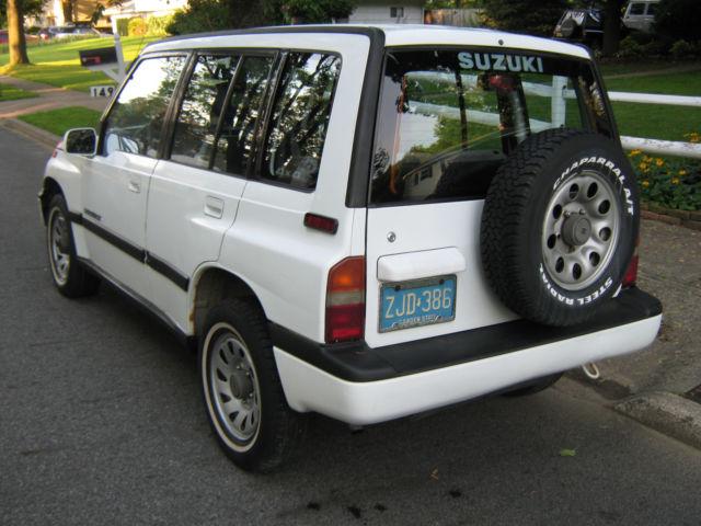 Suzuki Sidekick 4