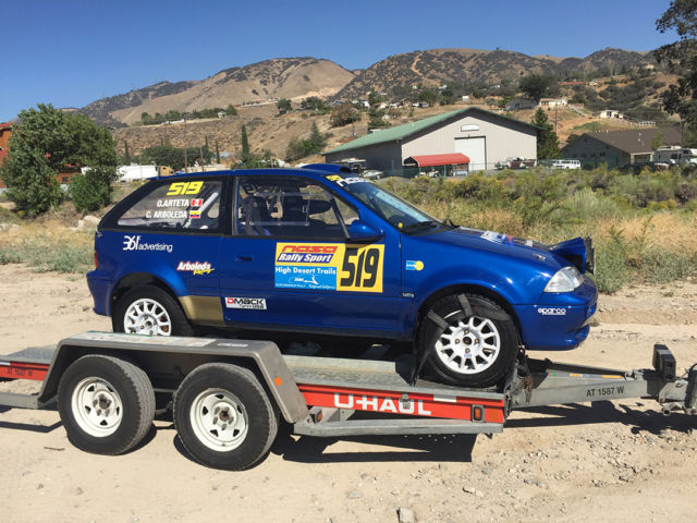 Suzuki Swift Gti - Fully Prepared Rally Car for sale: photos